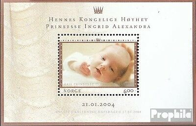 Norway Block27 mint never hinged mnh 2004 Ingrid Alexandra
