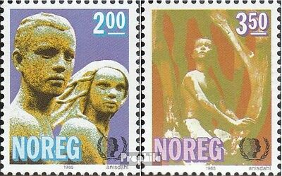 Norway 924-925 mint never hinged mnh 1985 Year the Youth