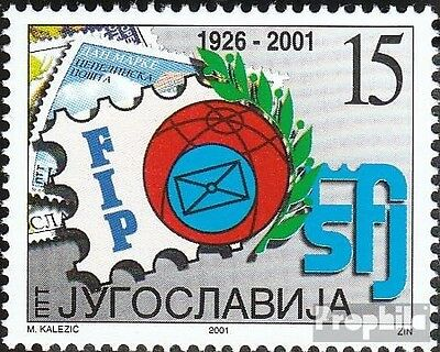 Yugoslavia 3046 mint never hinged mnh 2001 Day the Stamp