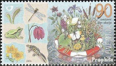 slovenia 311 mint never hinged mnh 2000 International Day the Environment