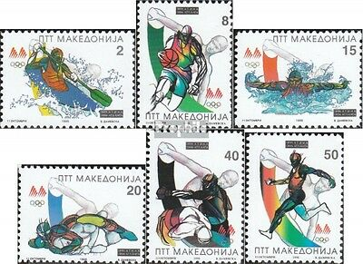 makedonien 62-67 mint never hinged mnh 1996 Olympics Summer´96
