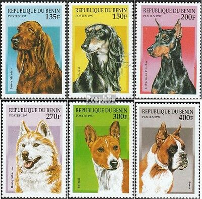 Benin 936-941 mint never hinged mnh 1997 Breeds