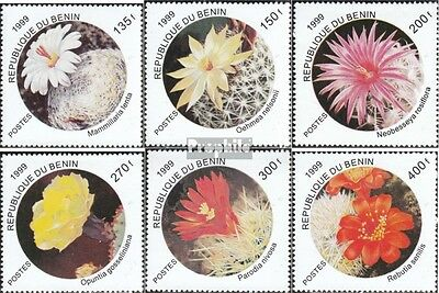 Benin 1199-1204 mint never hinged mnh 1999 Cacti