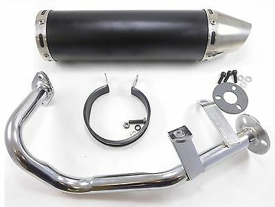 GY-6 QMB 50cc Performance Exhaust GY6 QMB139 4 Stroke Scooter Muffler