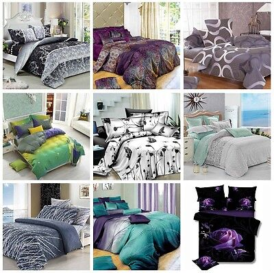 New Arrival Duvet/Doona/Quilt Cover Set Queen/King/Super King Size Bed New