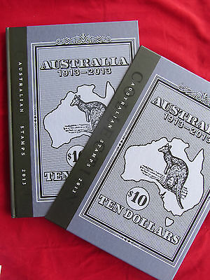 2013 Australian Stamp Collection - Deluxe Year Book with stamps