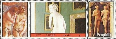 Ajman 2370A with zierfeld fine used / cancelled 1972 act