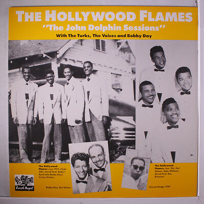 HOLLYWOOD FLAMES: The John Dolphin Sessions LP (Sweden) Vocal Groups