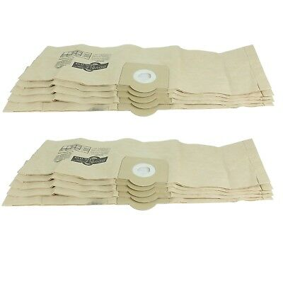 10 Superior Quality Dust Bags For Titan 16L 20L 30L 40L Hoover Vacuum Cleaners