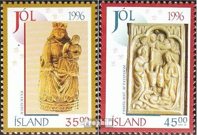 Iceland 860-861 fine used / cancelled 1996 christmas