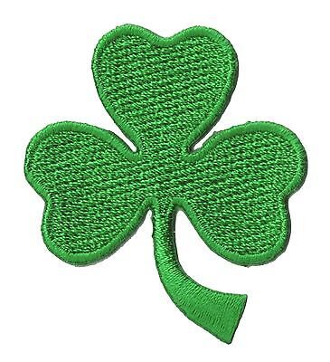 écusson patche Ecusson thermocollant brodé Trèfle vert Irish patch St Patrick