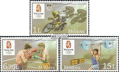 Moldawien 608-610 mint never hinged mnh 2008 Olympics Summer 2008