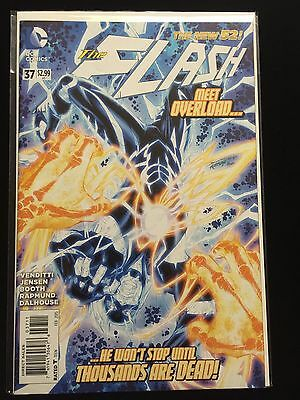 DC New 52 THE FLASH #37 NM 1st Overload CW TV Show Venditti Booth