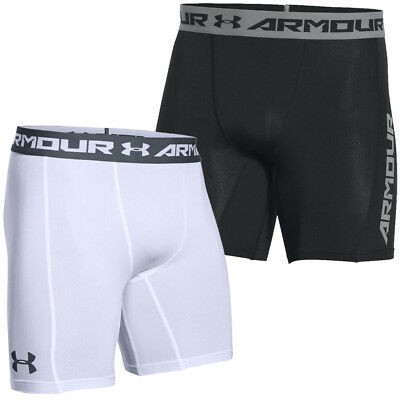 Under Armour 2017 Mens UA CoolSwitch Compression Gym Sports Baselayer Shorts
