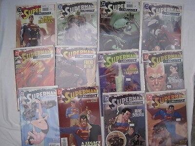 SUPERMAN : BIRTHRIGHT : COMPLETE 12 part DELUXE SERIES by WAID & YU. DC. 2003