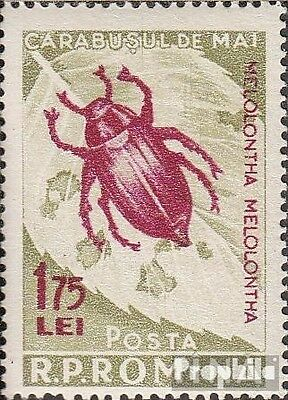 Romania 1588a (complete issue) unmounted mint / never hinged 1956 Harmful Insect