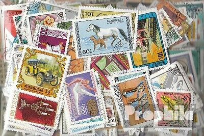 Mongolia 500 different stamps
