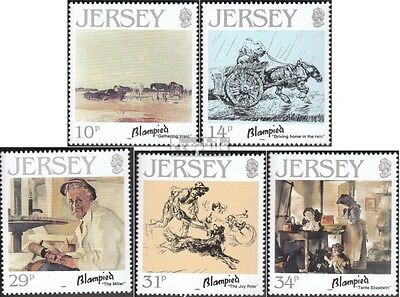 united kingdom-Jersey 388-392 (complete issue) unmounted mint / never hinged 198
