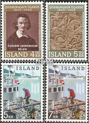 Iceland 368-369,370-371 (complete issue) used 1963 special stam