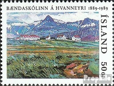 Iceland 706 (complete issue) used 1989 Agriculture
