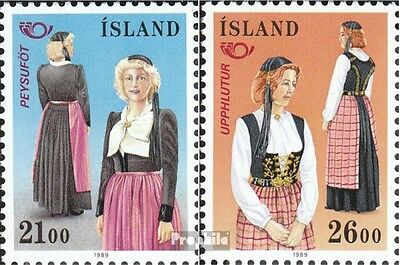 Iceland 699-700 (complete issue) used 1989 NORTH