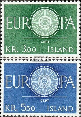 Iceland 343-344 (complete issue) used 1960 Europe