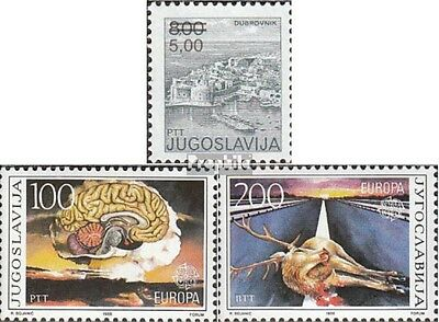 Yugoslavia 2155,2156-2157 (complete issue) unmounted mint / never hinged 1986 sp