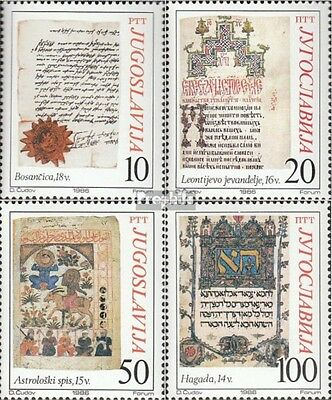 Yugoslavia 2177-2180 (complete issue) unmounted mint / never hinged 1986 Old Man