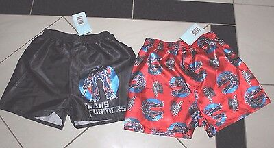 New Transformers Boys Pj Satin Boxer Shorts Pj Pants Size 8,10,12