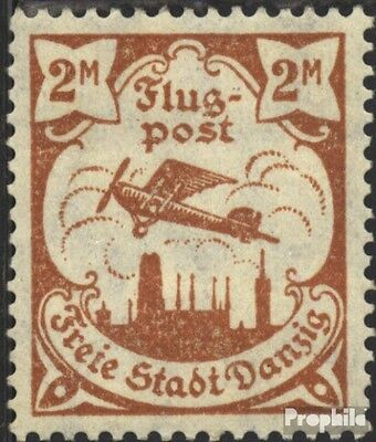 Gdansk 69X tested used 1921 Airmail