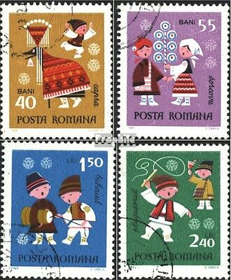 Romania 2810-2813 (complete issue) used 1969 Year
