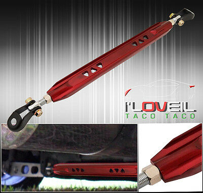 1995-2002 Mitsubishi Galant Jdm Performance Handling Rear Lower Tie Brace Red