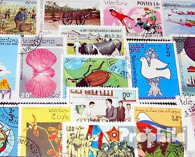 Laos 200 different special stamps