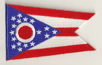 PP-367 Embroidered badge badge patch flag patch OHIO fusible