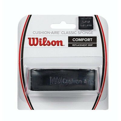 Wilson 2017 Cushion Aire Classic Sponge Replacement Grip - Black - One Size