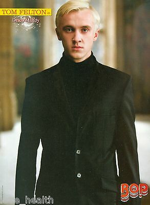 TOM FELTON - DRACO MALFOY - HARRY POTTER - JENNETTE McCURDY - PINUP - POSTER