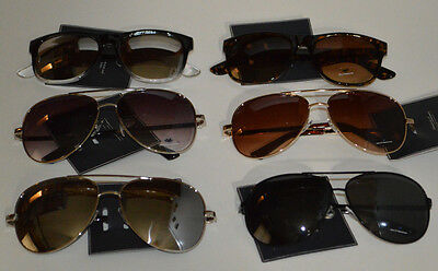 American Eagle Aviator Sunshades Sunglasses Retro Smoke Mirror Mens & Womens