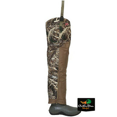 Banded Gear Redzone Breathable Uninsulated Hip Boots Max-5 Camo Size 11