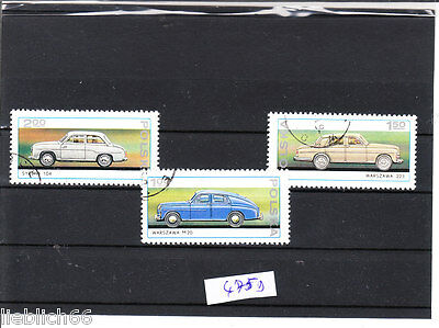 coches Veterano coches Polonia Quita 475 B