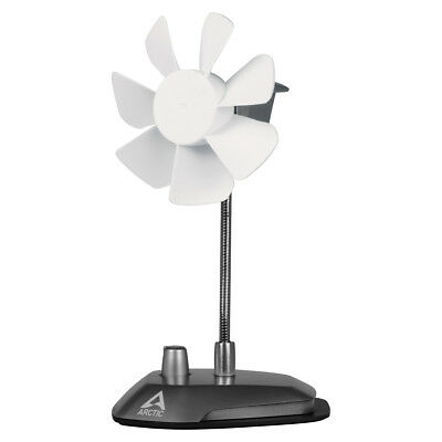 Arctic Cooling Breeze, USB Desk Top Fan, 92mm Fan, 1.8m Cable, Flexible Neck
