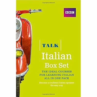 Talk Italian Box Set (Book/CD Pack): The Ideal Course f - Paperback NEW Alwena L