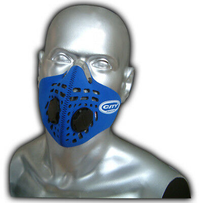 Respro City Anti-Pollution Bicycle Bike Cycle Cycling Face Mask Blue Large