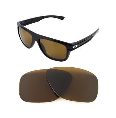 New Polarized Replacement Bronze Lens For Oakley Breadbox Sunglasses