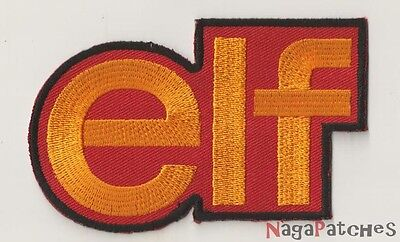 PP-10 Ecusson embroidered badge patch fusible ELF gasoline
