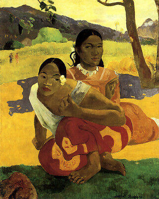 Paul Gauguin's When Will You Marry Nafea Faa ipoipo 16X20  Art Poster FREE SH
