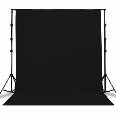 New Studio 10 x 20 Ft. Cotton Black Muslin Photo Backdrop Photography Background