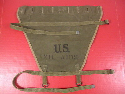 WWII Era US Army M1928 Haversack Canvas Pack Tail Carrier - Bruce & Thomas 1944