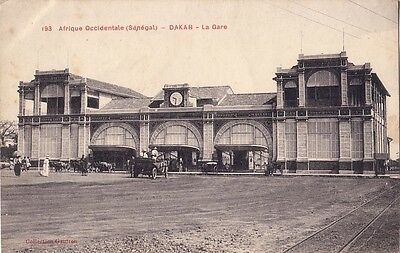 Senegal - Dakar - La Gare - Carte Datee De 1915.