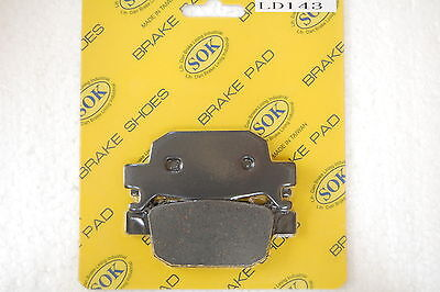 REAR BRAKE PADS fits HONDA NSS 300 Forza, 14-15 NSS300 NSS300A