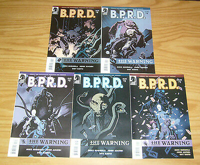 BPRD: the Warning #1-5 VF/NM complete series - mike mignola set 2 3 4 B.P.R.D.